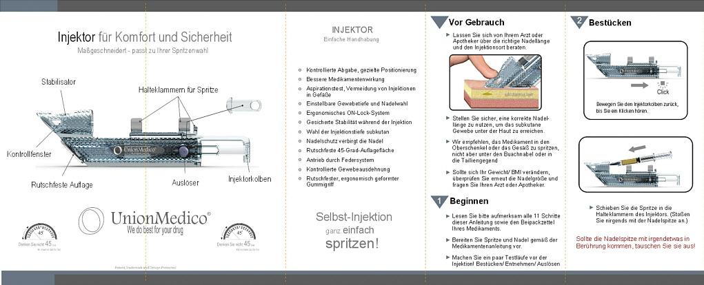 Bedienungsanleitung Auto-Injektor Seite 1